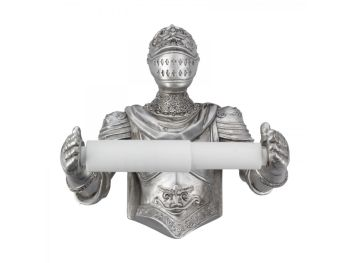 Brave Knight - Toilet Roll Holder