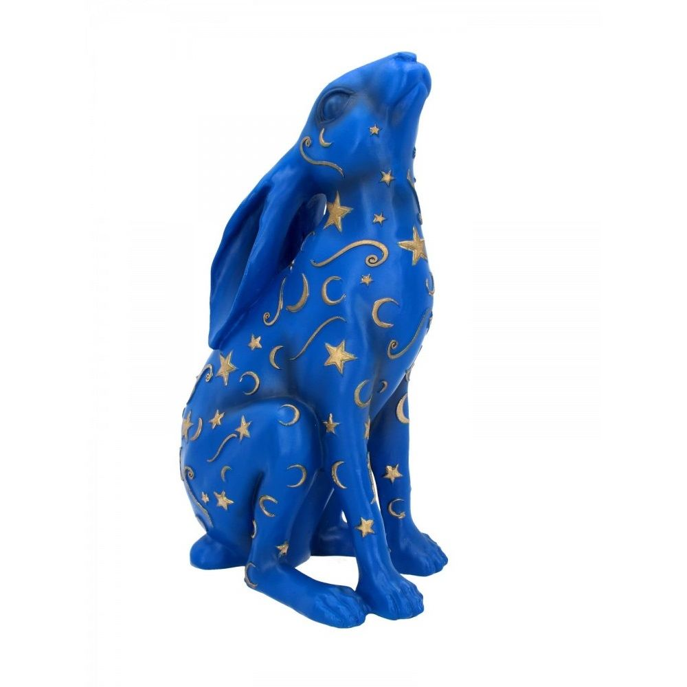 Moon Gazing Hare Figurines