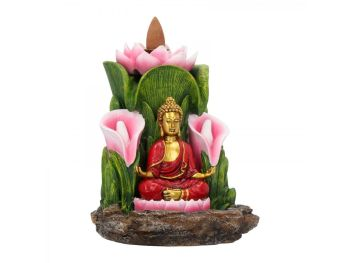 Enlightened Sanctuary Backflow Incense Burner