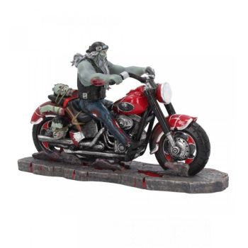 Zombie Biker Figurine By James Ryman