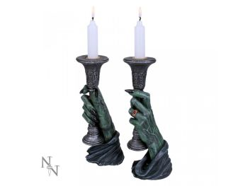 Light of Darkness - Zombie Candle Holders (set of two)