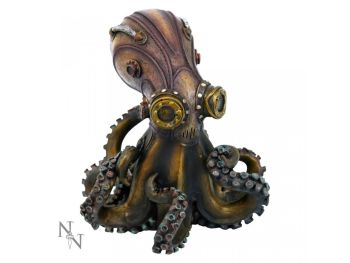Octo-Steam - Steampunk Figurine