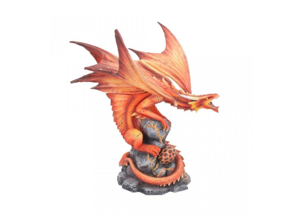 Adult Fire Dragon By Anne Stokes - Figurine