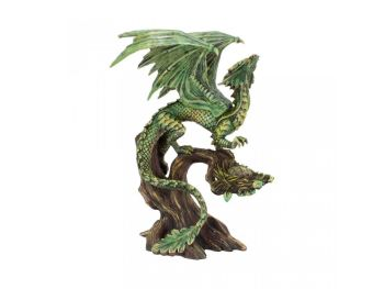 Adult Forest Dragon By Anne Stokes - Figurine