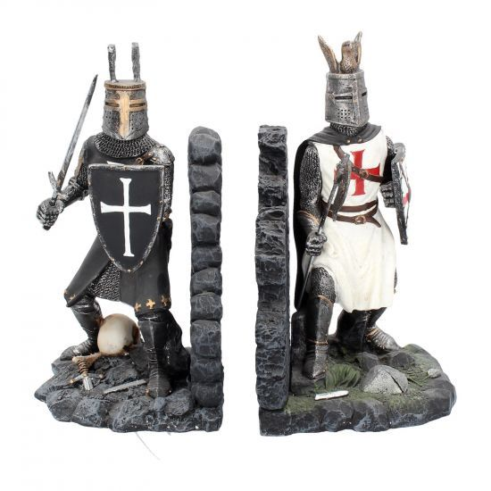 The Duel - Medival Knight Bookends