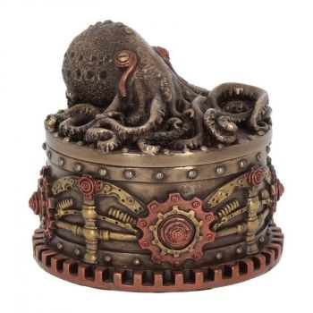 Boxtopus - Steampunk Trinket Box