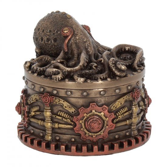Boxtopus - Steampunk Trinket Box