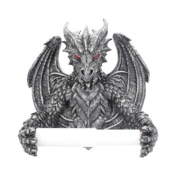 Obsidian Toilet Roll Holder - Obsidian Dragons Collection
