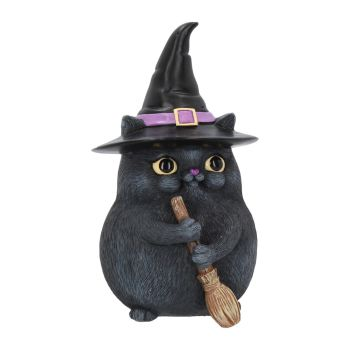 Lucky Black Cat Figurine - Snapcats Collection