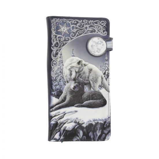 Snow Kisses - Wolves - Embossed Purse