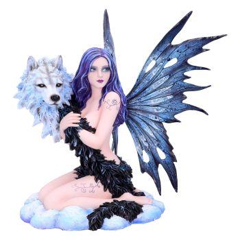 Spirit Wolf - Fairy & Wolf Spirit Figurine