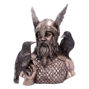Odins Messengers - Norse God Odin Bust