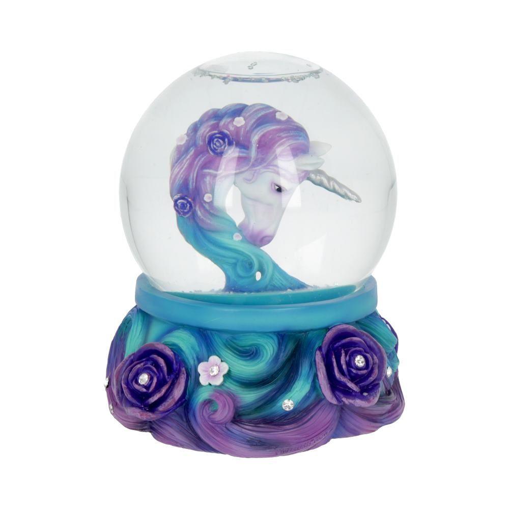 Pure Elegance Unicorn Snowglobe