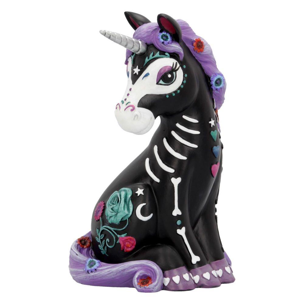 Sugarcorn - Calavera Unicorn Figurine