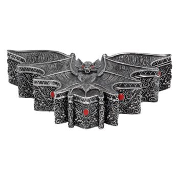 Carpe Noctem Box - Gothic Bat Trinket Box