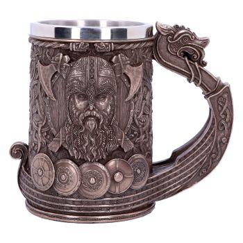Bronze Drakkar -  Viking Tankard