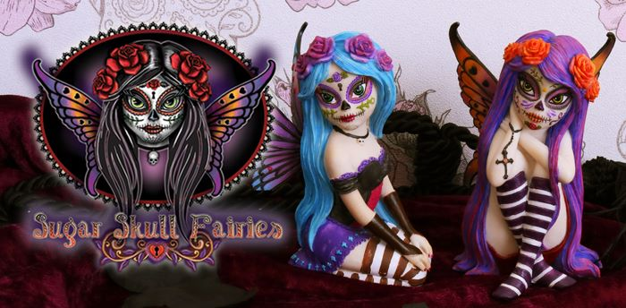 Sugar Skull Fairies