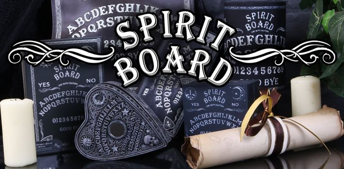 Black And White Spirit Board