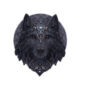 Wolf Moon - Wall Plaque