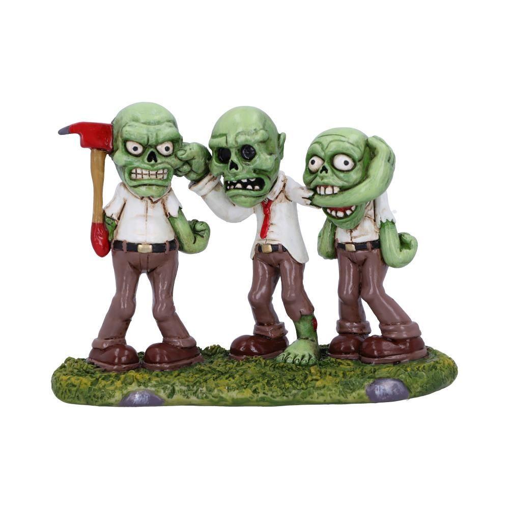 Three Wise Zombies Figurine