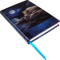 Quiet Reflection Embossed Journal By Lisa Parker