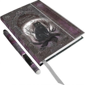 Embossed Witches Spell Book A5 Journal & Pen By Luna Lakota