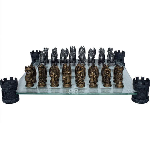 Kingdom Of The Dragon Chess Set