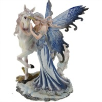 Comfort Fairy & Unicorn Figurine