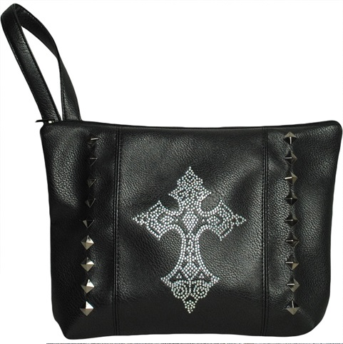 Diamante Cross Purse