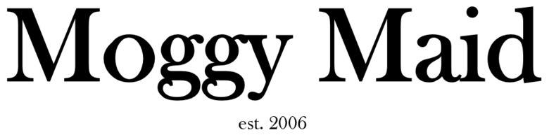 MOGGY MAID, site logo.