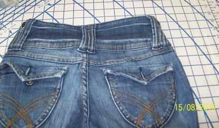 jeans rip after