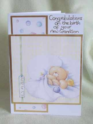 grandson card