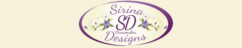 Sirinadesigns, site logo.