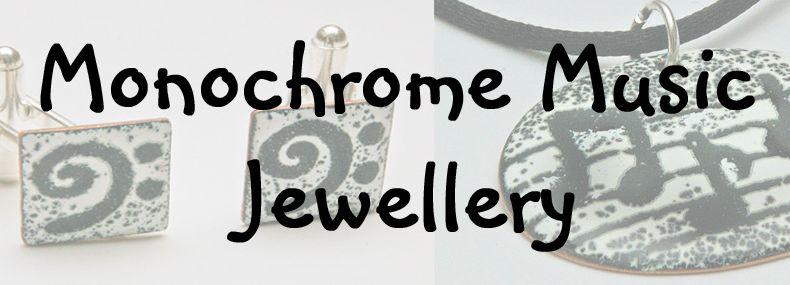 Banner- Monochrome Music Jewellery