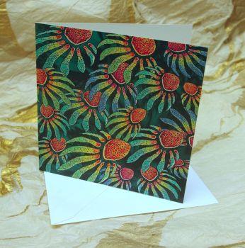 'Flora or Fauna' Greetings Card