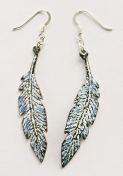 Feather Pendant Earrings