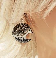 Hedgehog Pendant Earrings