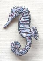 Seahorse Brooch