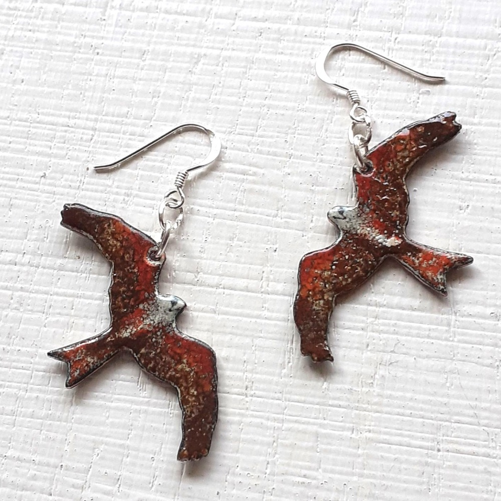 Red Kite Earrings