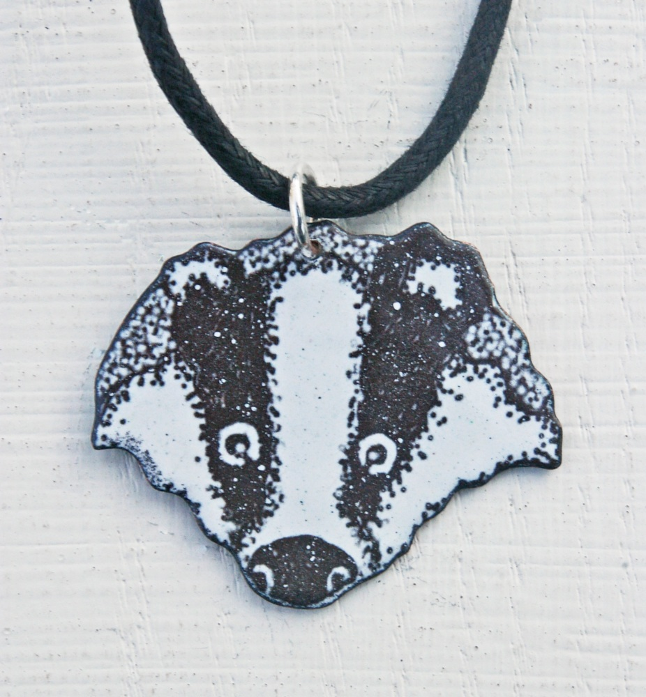 Badger's Head Pendant