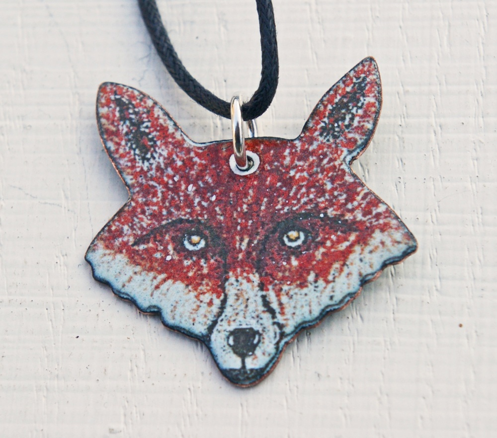 Fox's Head Pendant