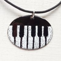 'Piano Keys' Pendant