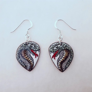 Cobra Head Earrings