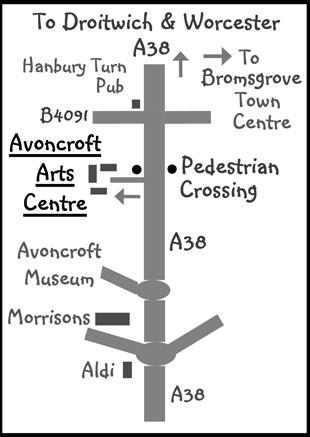 New Arts Centre Map