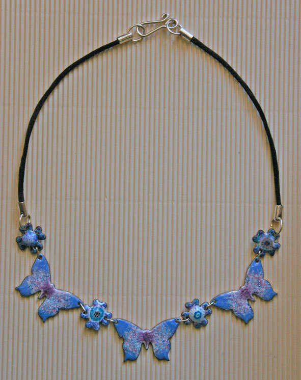 Butterfly Necklace (Flat)