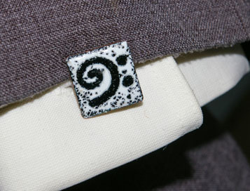 Bass Clef Cuff Links on Jacket