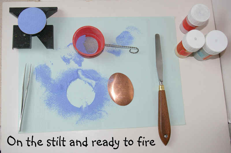 How to make an enamelled brooch 7