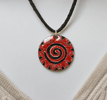 'Spiral' Pendant