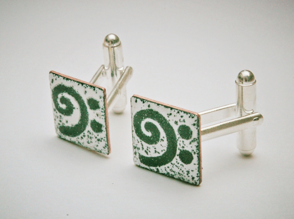 Bass Clef Cuff Links