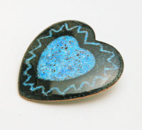 Large Heart Brooch